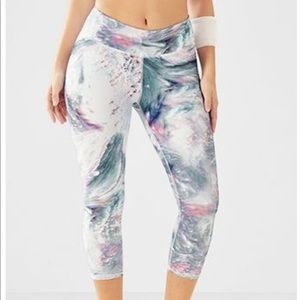 Fabletics Marbled Capri legging